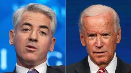 Joe Biden's beef with Bill Ackman sparks heated exchange and presidential chatter