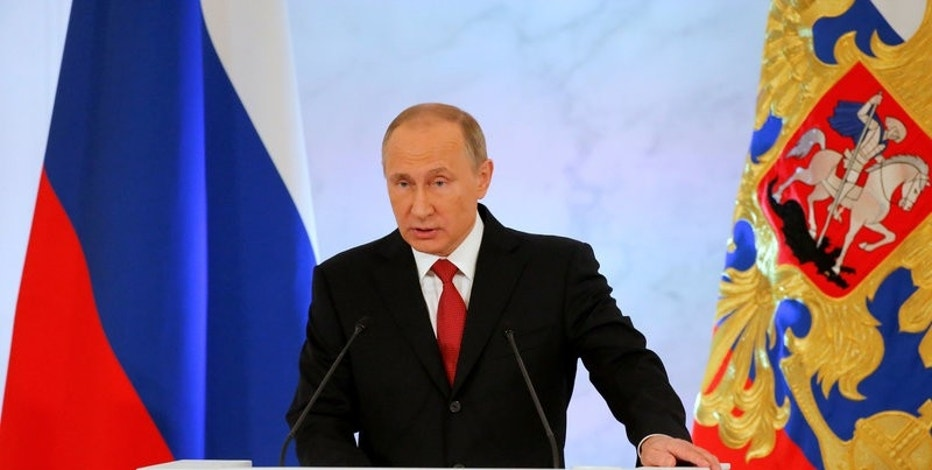Putin accuses United States lawmakers of 'insolence' over sanctions