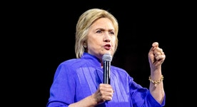 Clinton questioned about emails, Benghazi at book signing