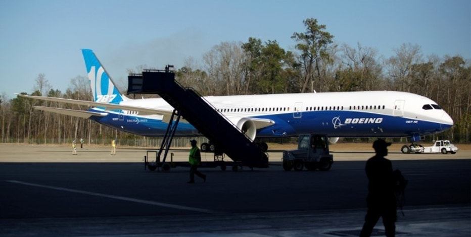 A Boeing 787-10 is moved from the tarmac after a ceremony celebrating the rollout of Boeing's newest Dreamliner at the Boeing South Carolina plant in North Charleston, South Carolina, U.S. February 17, 2017.  REUTERS/Randall Hill