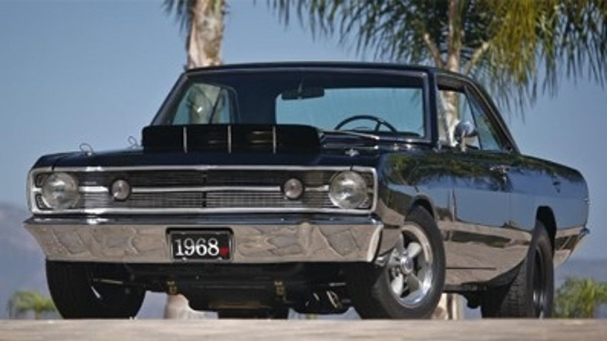 Bill Goldberg's 1968 Dodge Dart