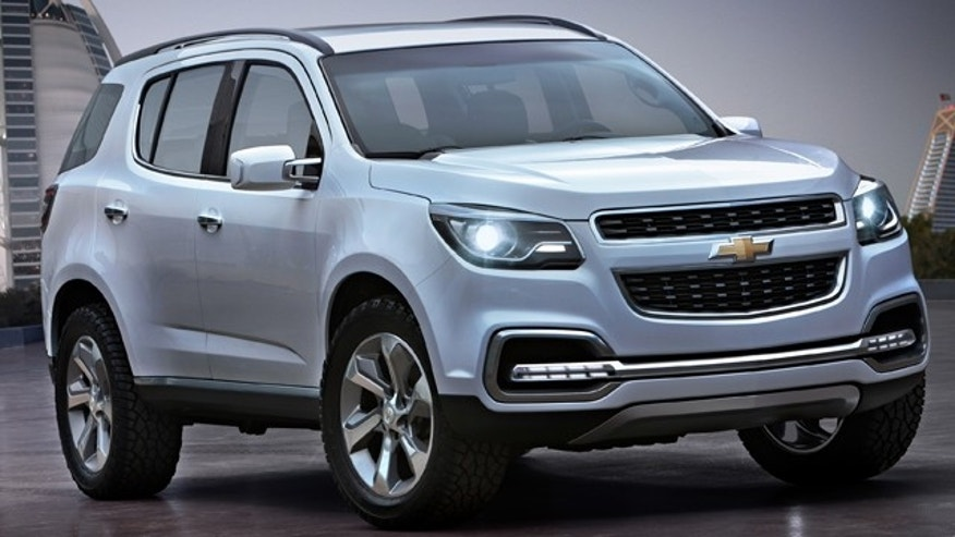2013 Chevrolet TrailBlazer