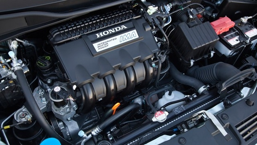 2012 Honda Insight Engine