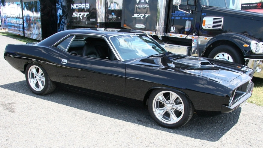 1973 Plymouth Barracuda restored by Matt Gaisbacher of Charleroi, Pa.
