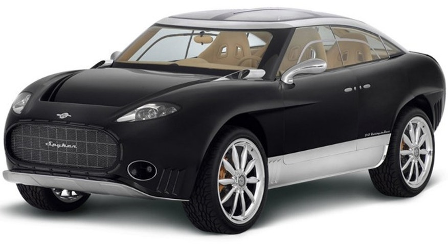 Spyker Peking-to-Paris concept