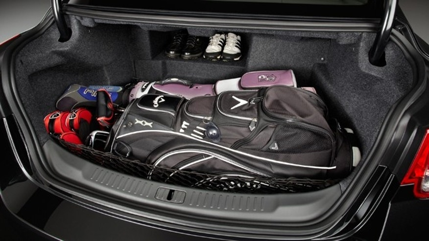 2013 Chevrolet Malibu Eco Trunk