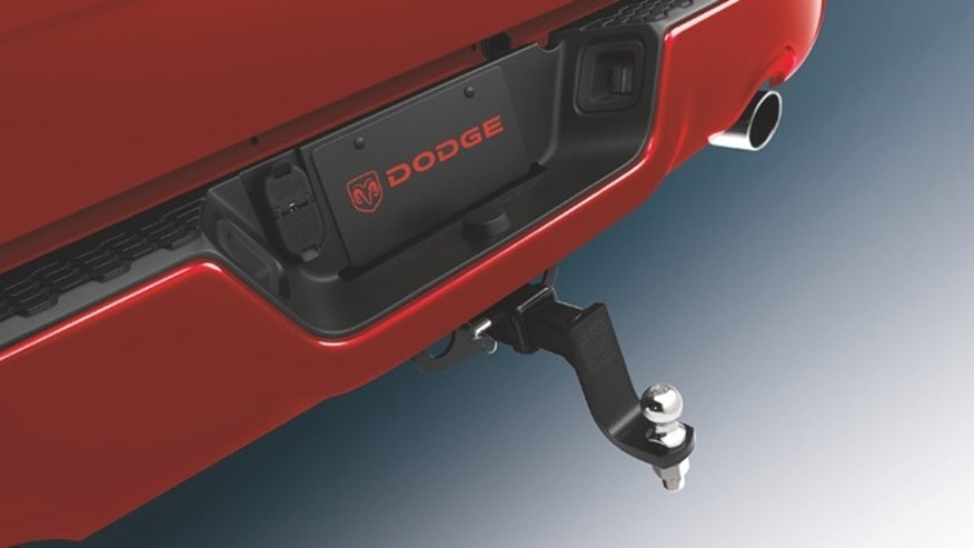 Trailer-Hitch Receiver for the 2009 Dodge Ram.