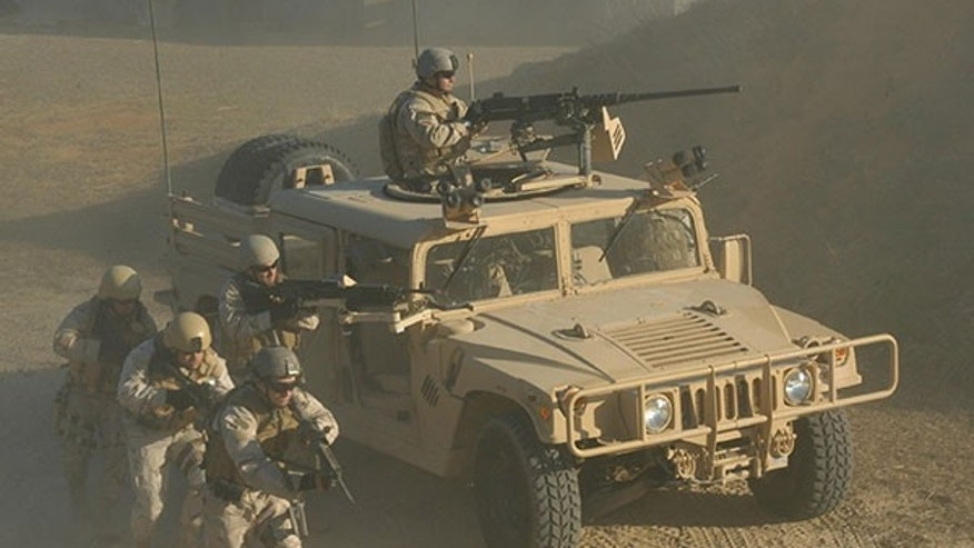 HMMWV Ground Mobility Vehicle - S