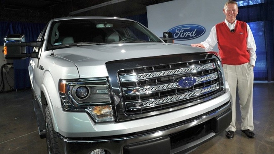Ford CEO Alan Mulally introduces the 2013 F-150