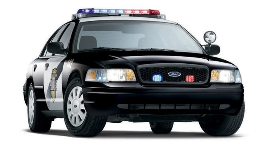 2008 Ford Crown Victoria Flexible Fuel Police Vehicle