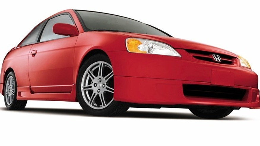 2003 Honda Civic Coupe With The Factory Performance Package