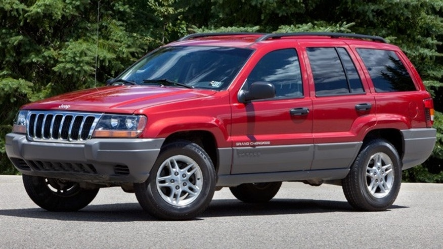 2002 Jeep Grand Cherokee; Second generation Grand Cherokee (1999-2004) on the WJ platform