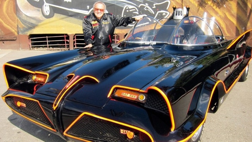 George Barris with his creation.
