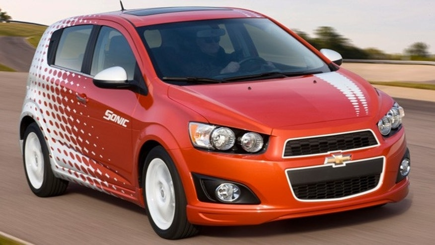 Chevrolet Sonic with Z-Spec accessories