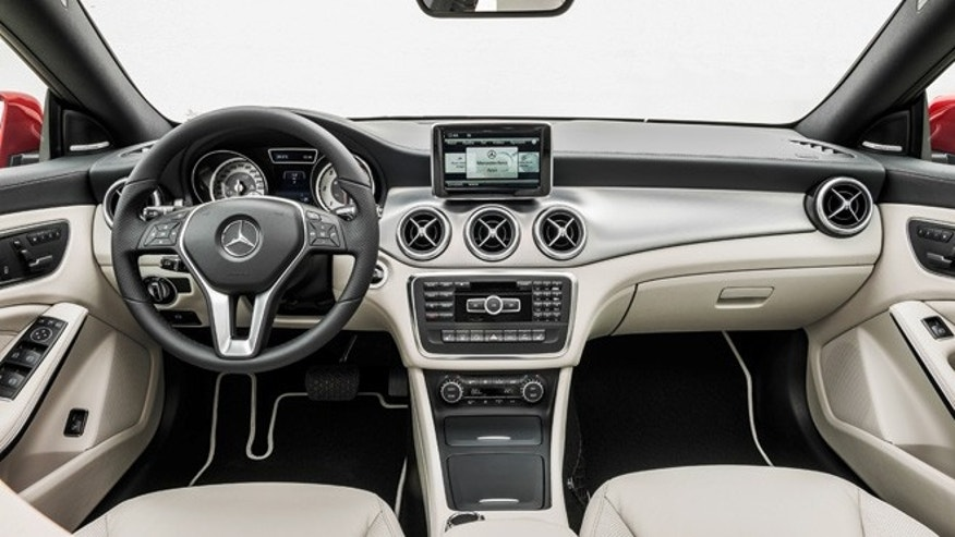 2014 Mercedes-Benz CLA250