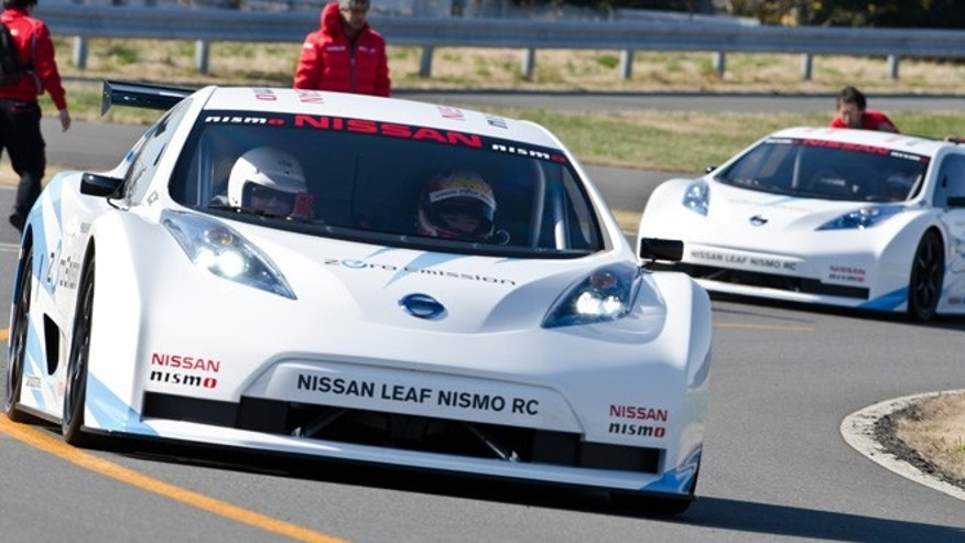 Nissan Leaf Nismo RC electric race car prototype