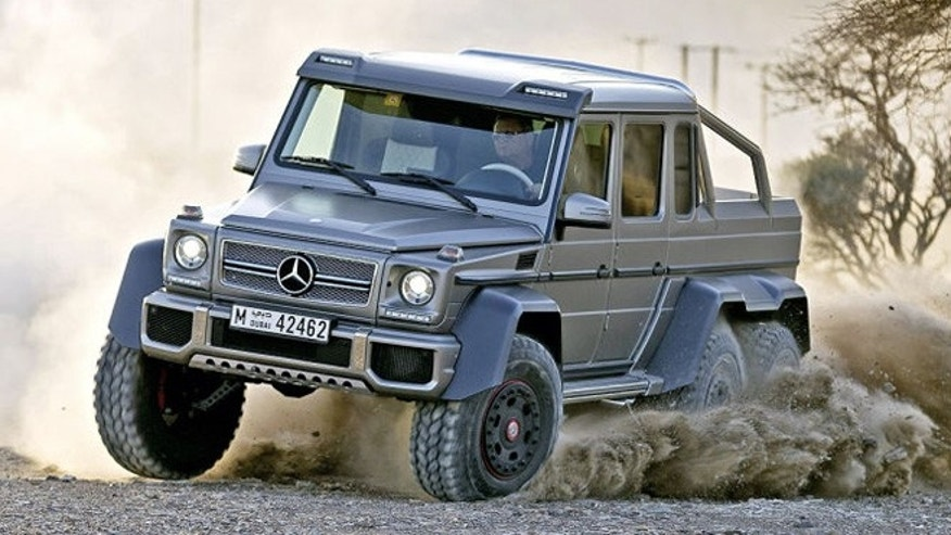 6x6 is the new 4x4 at mercedes benz fox news for Mercedes benz truck 4x4