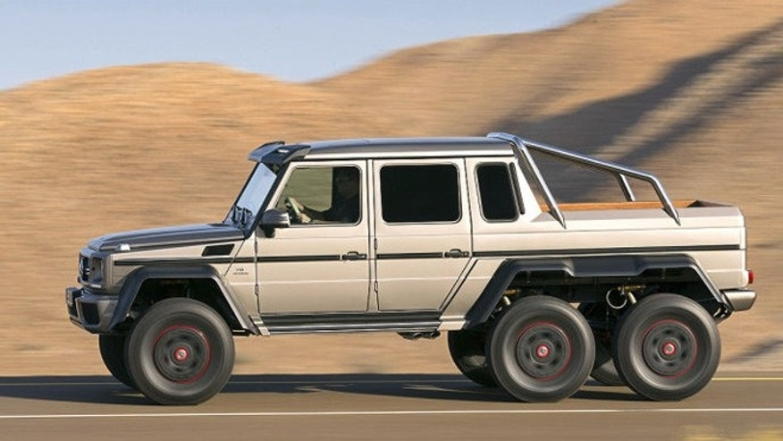 6x6 is the new 4x4 at mercedes benz fox news