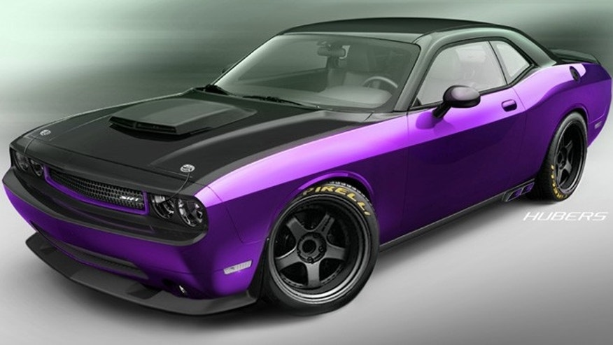 Custom 2012 Dodge Challenger designed by SRT, Mopar and Jeff Dunham