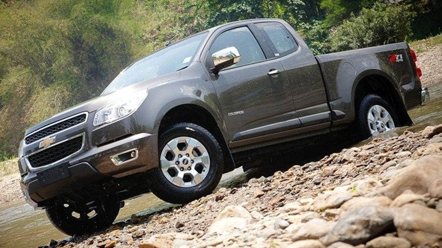 2013 Chevrolet Colorado (Thailand)