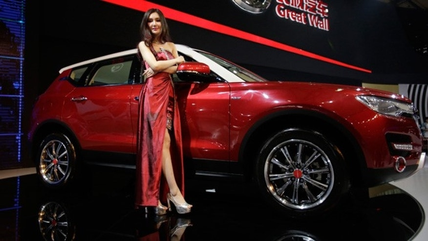 Great Wall H7 SUV at the Shanghai International Automobile Industry Exhibition