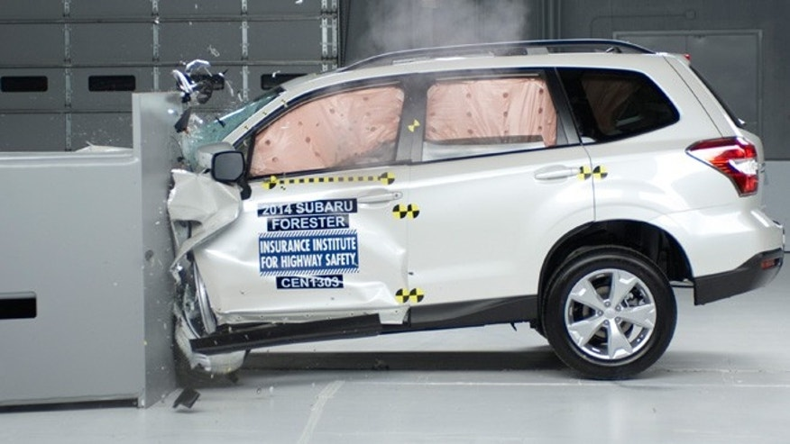 Crash Tests Small SUVs
