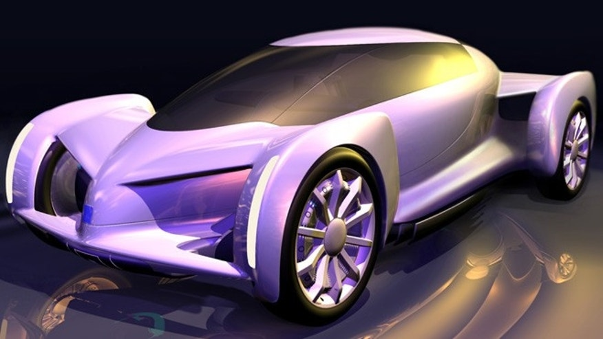 2002 GM Autonomy fuel cell-powered concept.