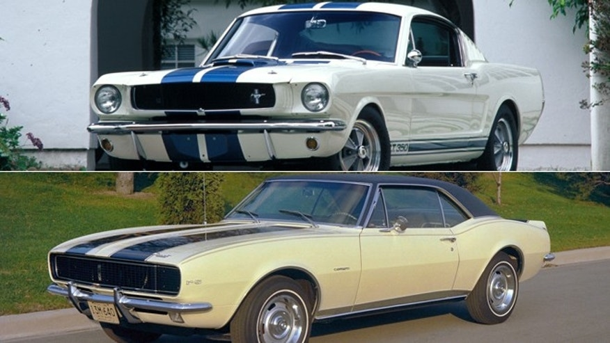 1965 Ford Mustang Shelby GT350/1967 Chevrolet Camaro SS