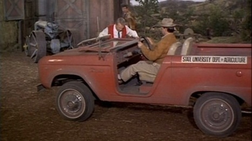 "1967 Ford Bronco in ""Green Acres"""