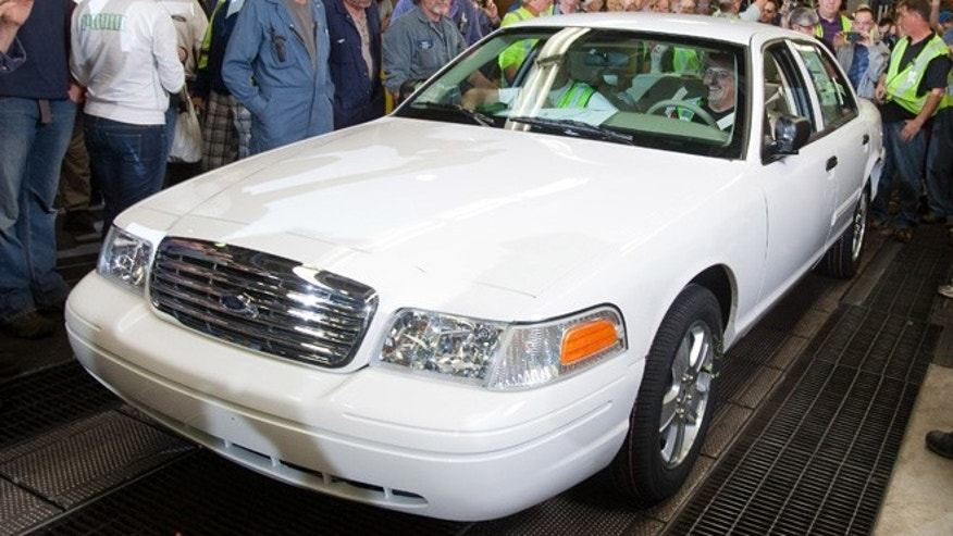 Last Crown Victoria Rolls off the Production Line