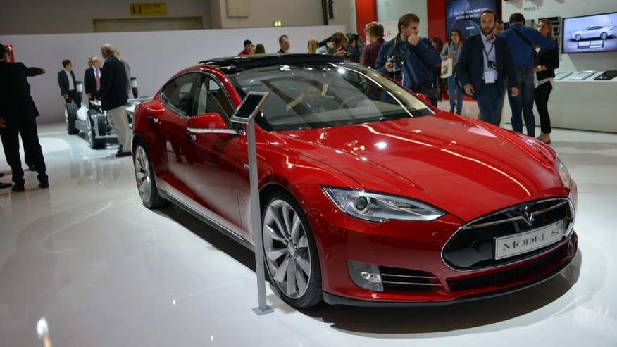 The Tesla Model S has been a surprise hit in the US and the company is hoping to repeat the success in Europe.