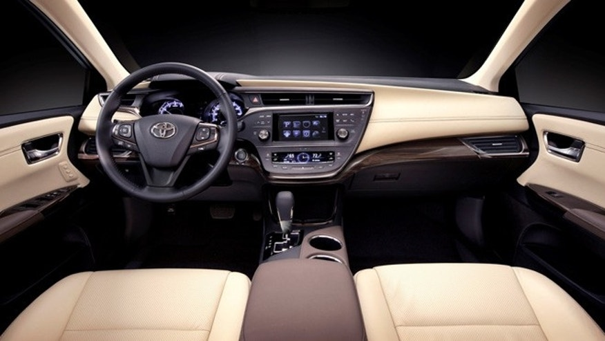V6 Avalon interior shown