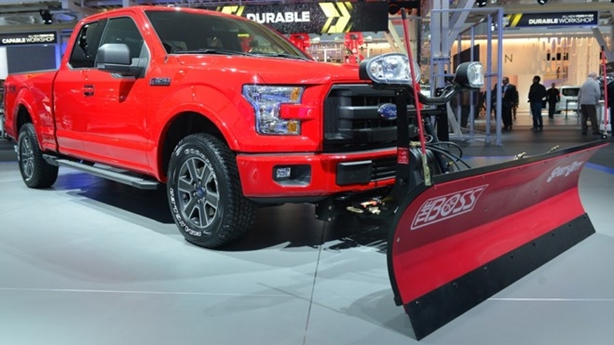 2015 Ford F-150 Adds Snow Plow Prep Option