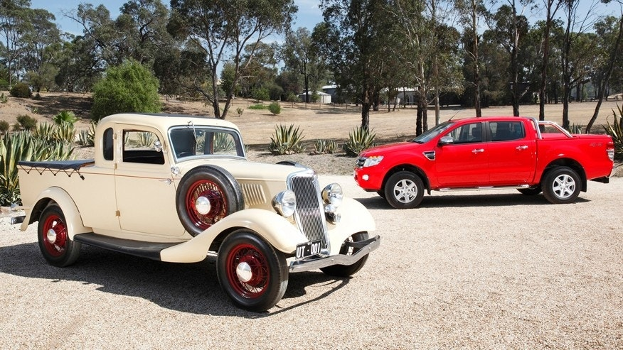 Ford Celebrates Aussie Ute's 80th Anniversary