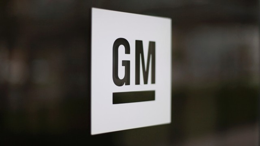 May 16, 2014: This photo shows the General Motors logo at the company's world headquarters in Detroit. (AP Photo/Paul Sancya, File)