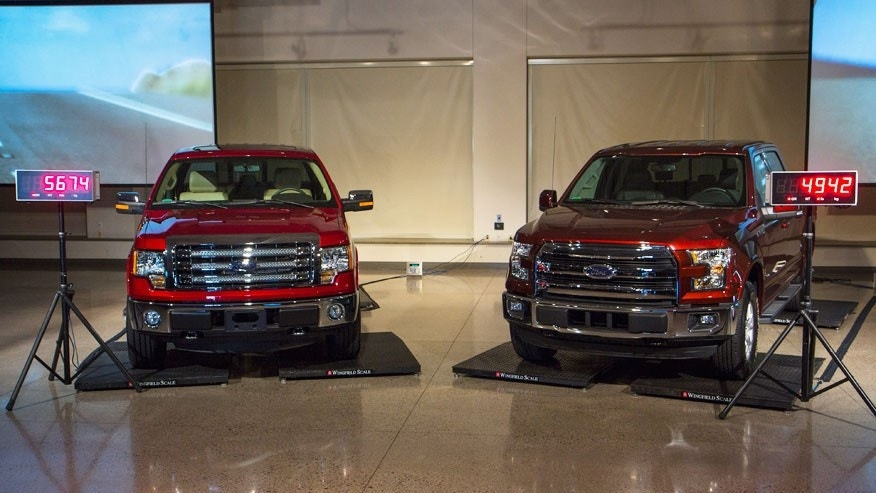 Tougher, Lighter 2015 Ford F-150