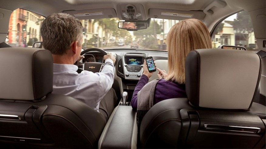Chevrolet with OnStar 4G LTE Wi-Fi hotspot