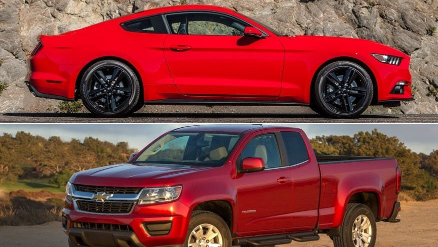 Ford Mustang/Chevrolet Colorado