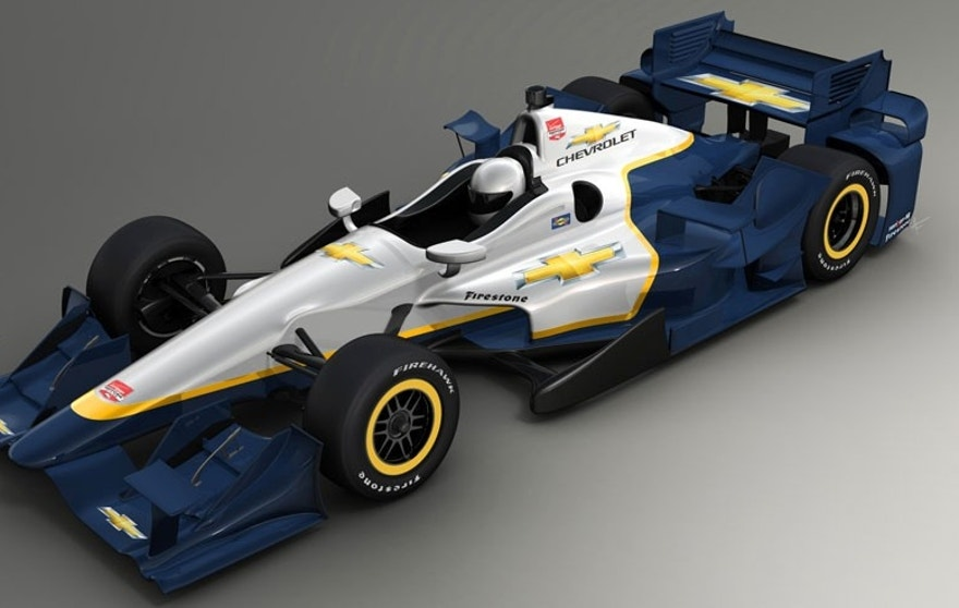 Chevrolet-powered racecars in the 2015 Verizon IndyCar Series will feature new Chevy-developed aero packages for road courses and short oval competition.