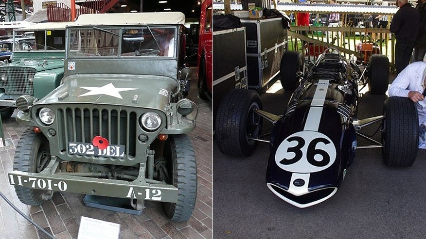 "Willys MB ""Jeep""/Gurney Eagle-Weslake"