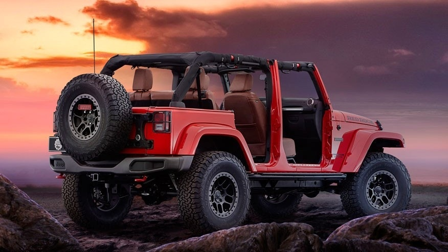 Jeep Wrangler Red Rock Concept