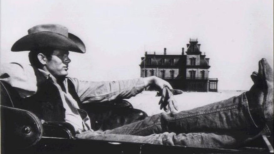 "James Dean in the film ""Giant"""