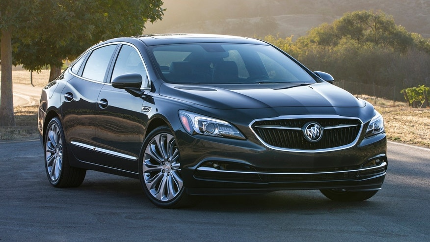 The All â New 2017 Buick LaCrosse