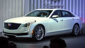 Cadillac Unveils CT6 in New York City