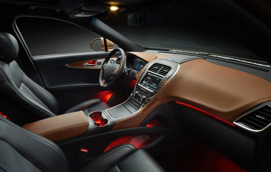 2016 Lincoln MKX Black Label Thoroughbred interior
