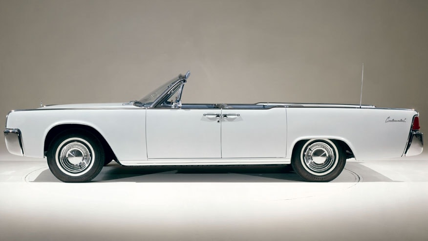 1962 Lincoln Continental Fordor Convertible