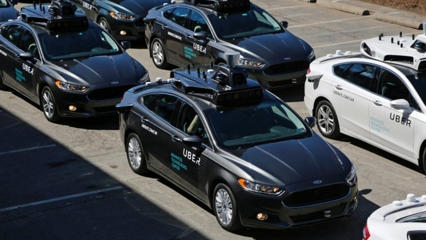 Autonomous Ubers being tested in Pittsburgh