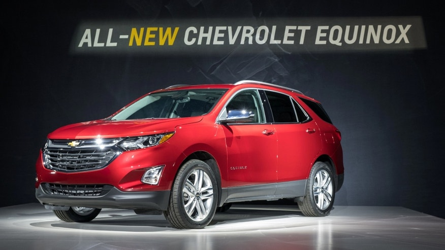 GM unveils new compact Chevy Equinox SUV in super ...