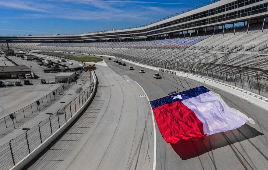 On Sept. 28, 2016, Chevrolet set the Guinness World Records™ title for the World's Largest Flag Pulled by a Moving Vehicle with a 2017 Silverado HD powered by a new, more powerful Duramax 6.6L V-8 turbo-diesel engine. The truck set the record by flying a nearly 40- by 80-foot U.S. flag around the Texas Motor Speedway and later pulled a massive State of Texas flag in honor of the State Fair of Texas. The event also included Chevy Truck Legends who participated in the flag pull. Chevy Truck Legends feature Texas residents who have more than 100,000 miles on their Chevy truck or have owned more than one new Chevy truck in their lifetime.