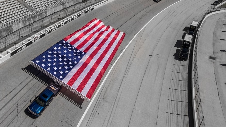 Chevy sets the most american world record ever fox news for Texas motor vehicle record